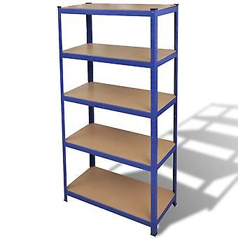 Storage Shelf Garage Warehouse Blue