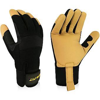 Intra-FIT Professional Anti-Vibration Glove EN ISO 10819: 2013 / A1: 2019 & EN 388:2016 Certified