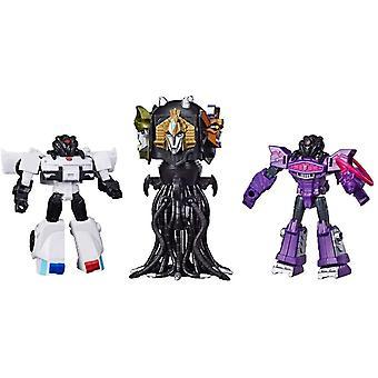 3-Pack Transformers Cybertronian Villains Quintesson Judge Shockwave Prowl