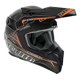 Stealth HD210  Adult MX Helmet - Orange