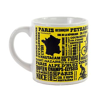 Ceramic Espresso Mugs - French Tour