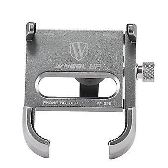 Wheel up w-099 outdoor vlog recording aluminum alloy motorcycle bike bicycle handlebar mobile phone holder stand for devices between 55-100mm width