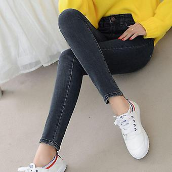 Denim High Waist Stretch Pencil Skinny Ankle-length Pants