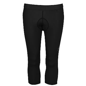 Odlo Womens Padded Cycling Capri Elasticated Slim Fit Fast Drying Thermo Bottoms