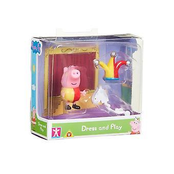 Peppa Pig Jurk & Play George Figure Pack