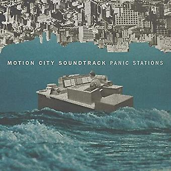 Motion City Soundtrack - Panic Stations (Red/White) [Vinyl] USA import