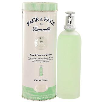 Face A Face Eau De Toilette Spray By Faconnable 5 oz Eau De Toilette Spray