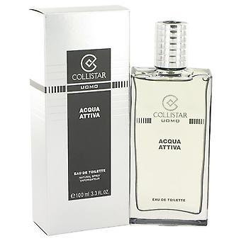 Collistar Aqua Attiva Eau De Toilette Spray By Collistar 3.4 oz Eau De Toilette Spray