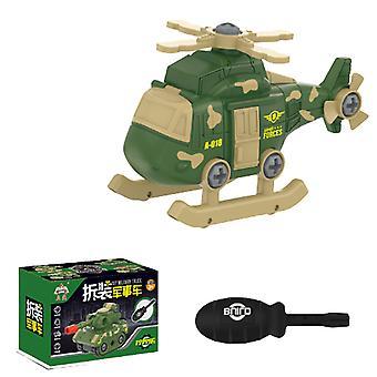 Children's detachable airplane toy