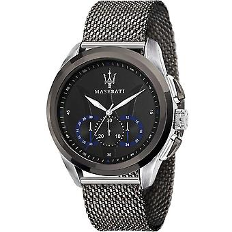 Mens Watch Maserati R8873612006, Kvarts, 45mm, 10ATM