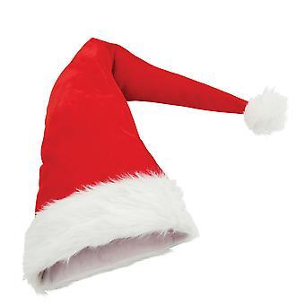 Christmas Shop Long Length Santa Hat (2 Designs)