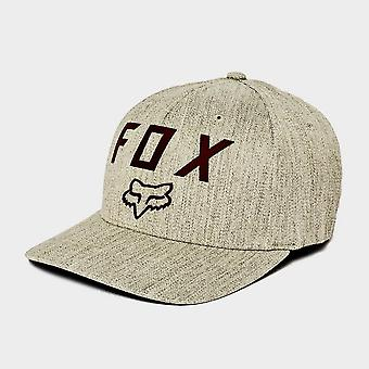 New FOX Men's Number 2 Flexfit Hat Grey