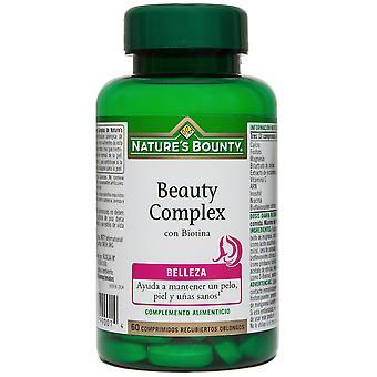 Nature's Bounty Schönheitskomplex mit Biotin 60 Coated Tablets