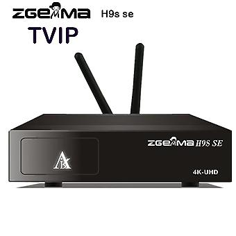 Zgemma h9s se with 300m wifi linux and android dual os dvb-s2x multistream 4k uhd 4k 2016p upgrade from h9s satellite receiver