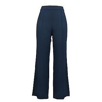Isaac Mizrahi Live! Damen Hose regelmäßige Kiesel stricken Pull-On Blau A311386