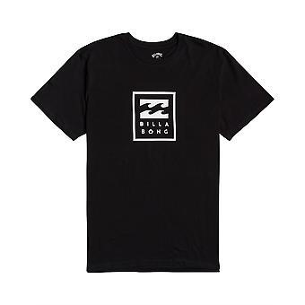 Billabong Menn's T-skjorte ~ Unity Stablet svart