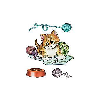 Jeje Marij Rahder Clear Stamps Cat