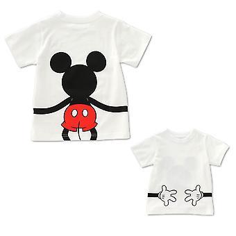 Isä ja T-paita, Äiti ja tytär Vaatteet, T-paita