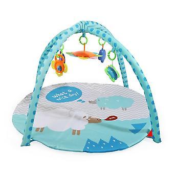 Moni Playbow speltijd PB204 kruipen deken, vijf speelgoed met C-Ring