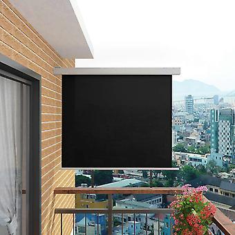 vidaXL balcon-store multifonction 150x200 cm noir