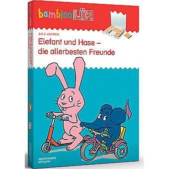 bambinoLK-Sets: bambinoLK-Set: 2/3/4 Jahre: Elefant und Hase - die allerbesten Freunde: Kasten +