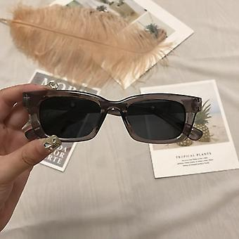 Rectangle Vintage Designer Retro Points Sun Glasses For Female