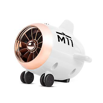 Bluetooth 5.0 luidspreker kleine vliegtuigen audio digitale slimme luidspreker outdoor draadloze subwoofer, wit