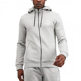 Kings Will Dream Crosby Grey/White Zip Up Hoody Sweatshirt