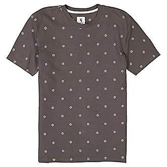 Garcia D11203_Men's T-Shirt SS, Iron Grey, M Man
