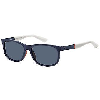 Tommy Hilfiger TH 1520/S KU RCT 57 Sunglasses, Sininen (Matt Bluee/Bl Blue), Miesten