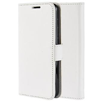 Pu leather magsafe case for samsung a30 white pc305