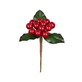 11cm Classic Berry Pick - Red