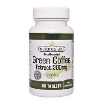 Natures Aid - Green Coffee Extract 200MG 60VTabs