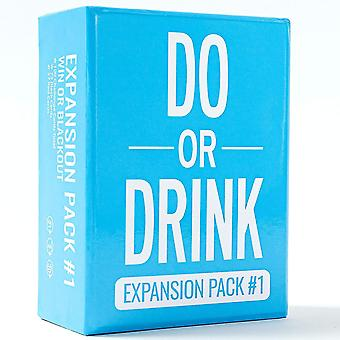 Blue do or drink party card game funny board game drinking card expansion cai1274