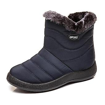 Women Waterproof Snow Boots, Female Ankle Boots