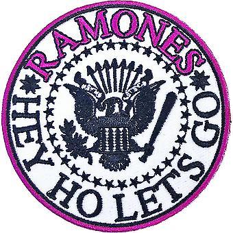 Ramones - Hey Ho Let es Go V. 1 Standard-Patch