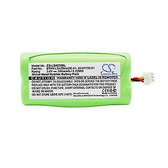Cameron Sino Ls4278Bl Battery Replacement For Symbol Barcode Scanner