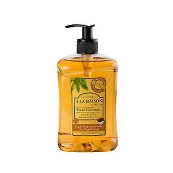 A La Maison Liquid Soap, Pure Coconut 16.9 Oz