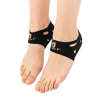 2pcs Plantar Fasciitis Therapy Wrap Heel Foot Pain Arch Support Ankle Brace Heel Protector Insole Orthotic