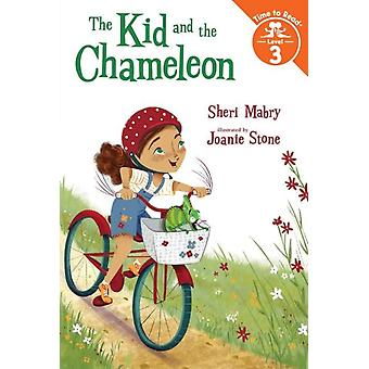 The Kid and the Chameleon by Sheri Mabry & Illustrated by Joanie Stone