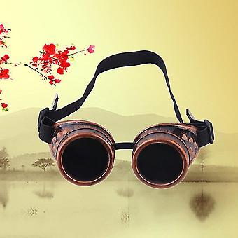 Cyber Goggles Steampunk Glasses Vintage Retro Welding Punk Gothic Victorian
