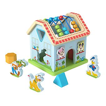 Disney Wooden Mickey Mouse Activity House