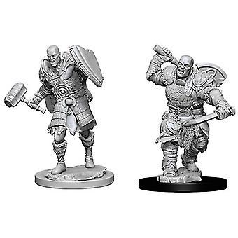 Dungeons & Dragons Nolzur's Marvelous Unpainted Miniatures (W7) Male Goliath Fighter