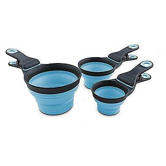 Skládací kilp scoop DEX30735, modrý - velký