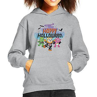 Pflege Bären UTM Happy Halloween Kinder Kapuzensweatshirt