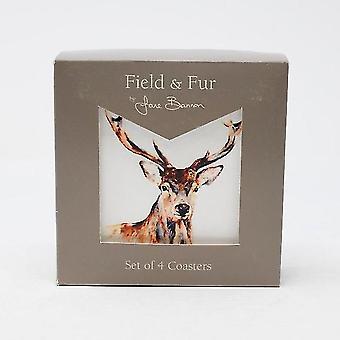 Pyramid International Jane Bannon (in The Fields) Coaster Set