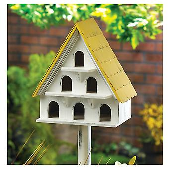Songbird Valley Three-Story A-Frame Wood Bird Condo, Pack of 1