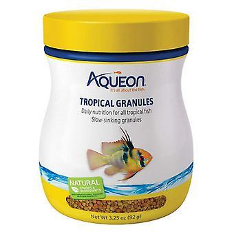 Aqueon Tropické granule Rybí jídlo - 3.25 oz