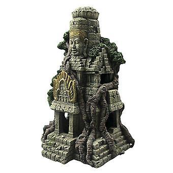 אקווריום הבית קישוט אבן עתיק בודהה שרף פסלוני אקווריום קישוט אקווריום טנק