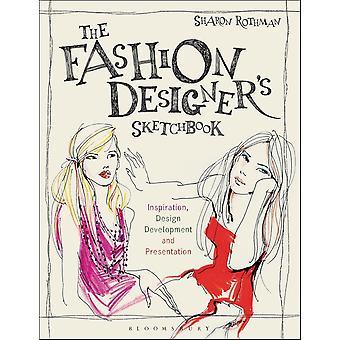 Het schetsboek van de modeontwerper